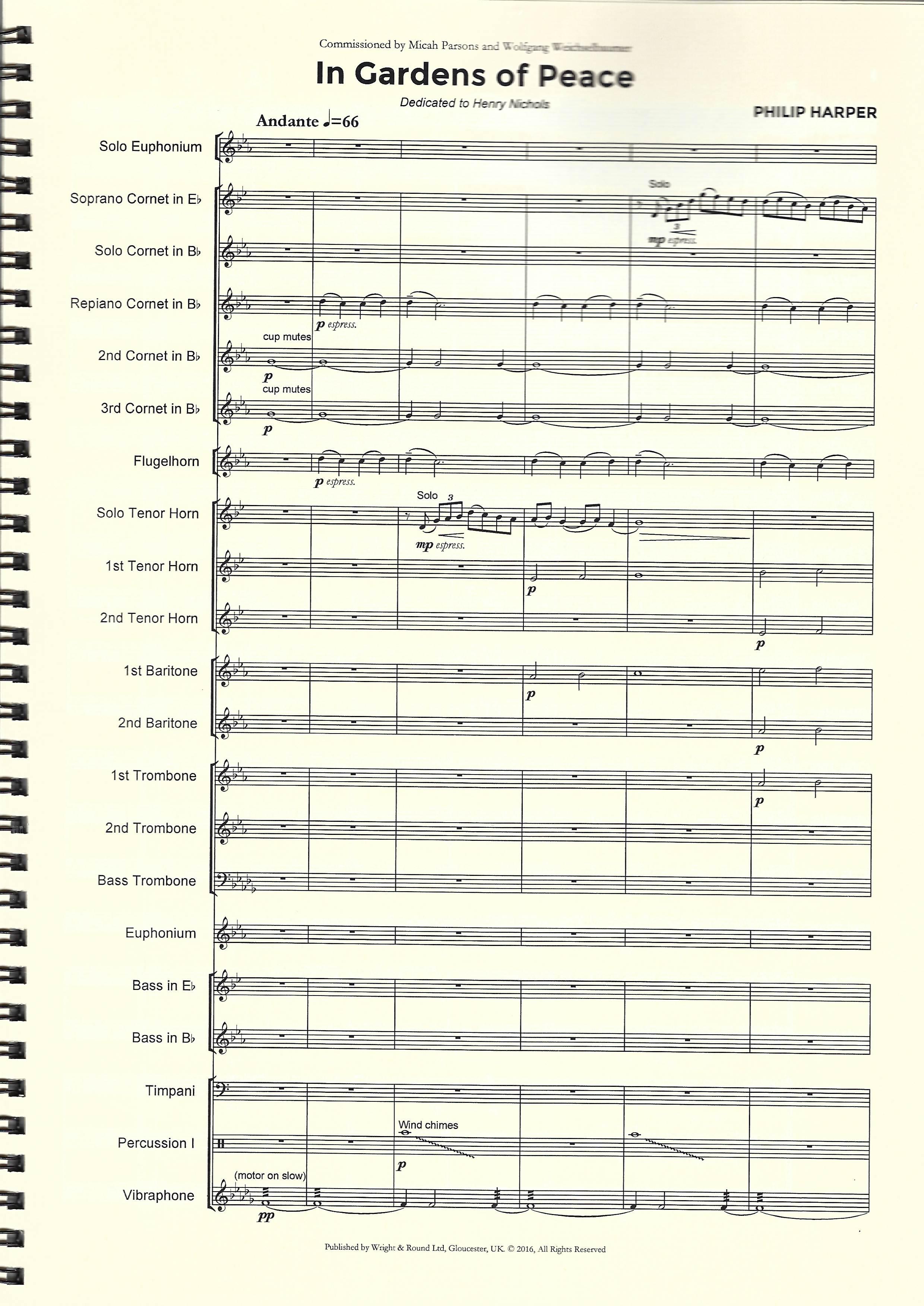 Euphonium Book Only Starter Duets Philip Sparke Bb Trombone