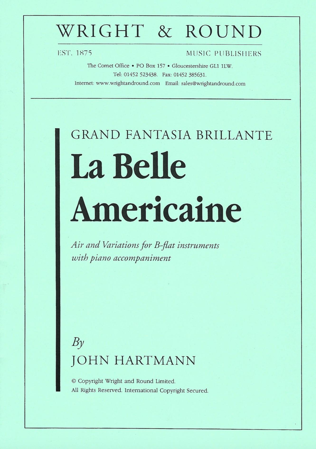 La Belle Americaine - John Hartmann - Euphonium and Piano