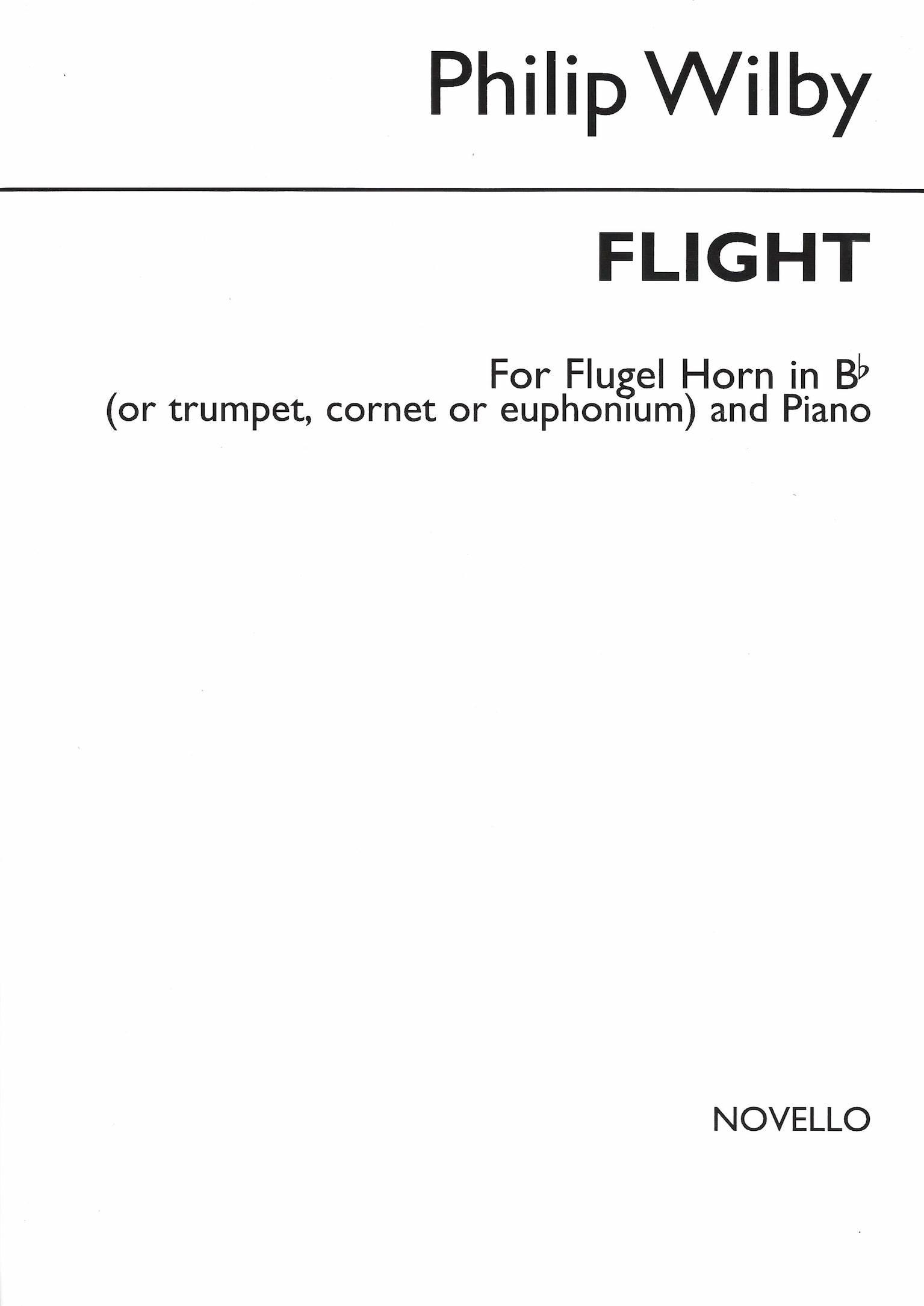 Flight - Philip Wilby - Euphonium (or Flugel,Cornet,Trumpet) and Piano