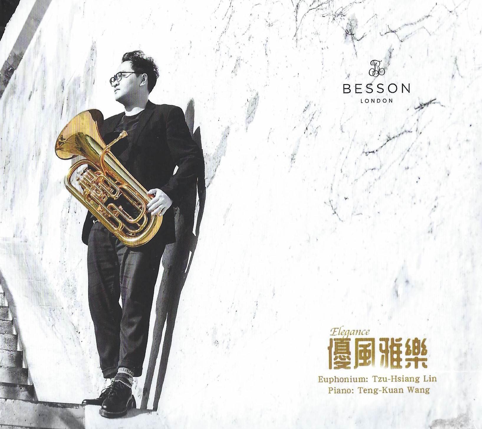 CD - Elegance - Tzu-Hsiang Lin (euphonium) and Teng-Kuan Wang (piano)