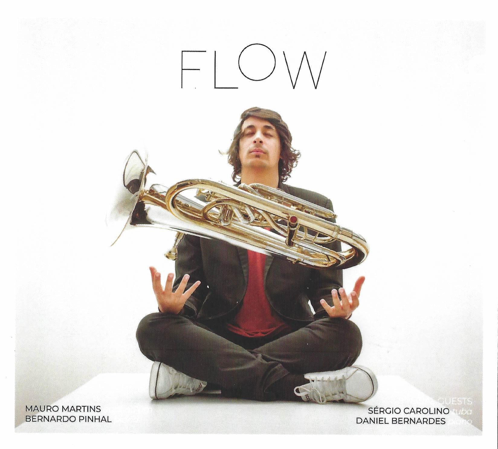 CD - FLOW - Mauro Martins (euph) and Bernardo Pinhal (piano)