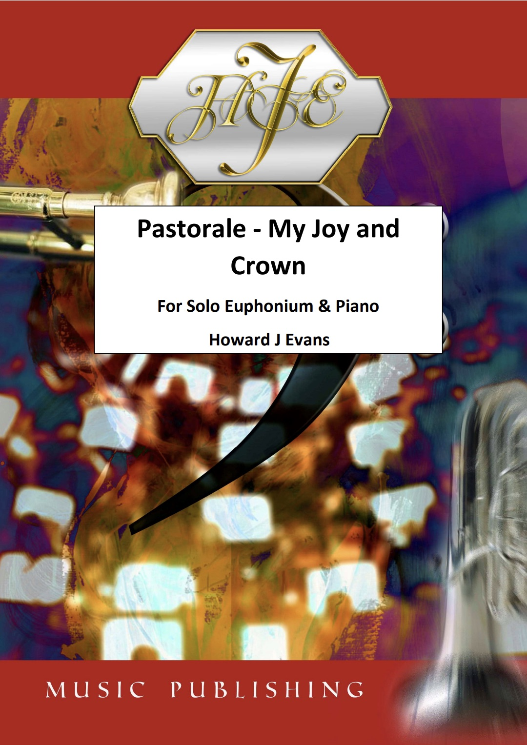 Digital Download - Pastorale : My Joy and Crown - Howard J. Evans - Euphonium and Piano sheet music