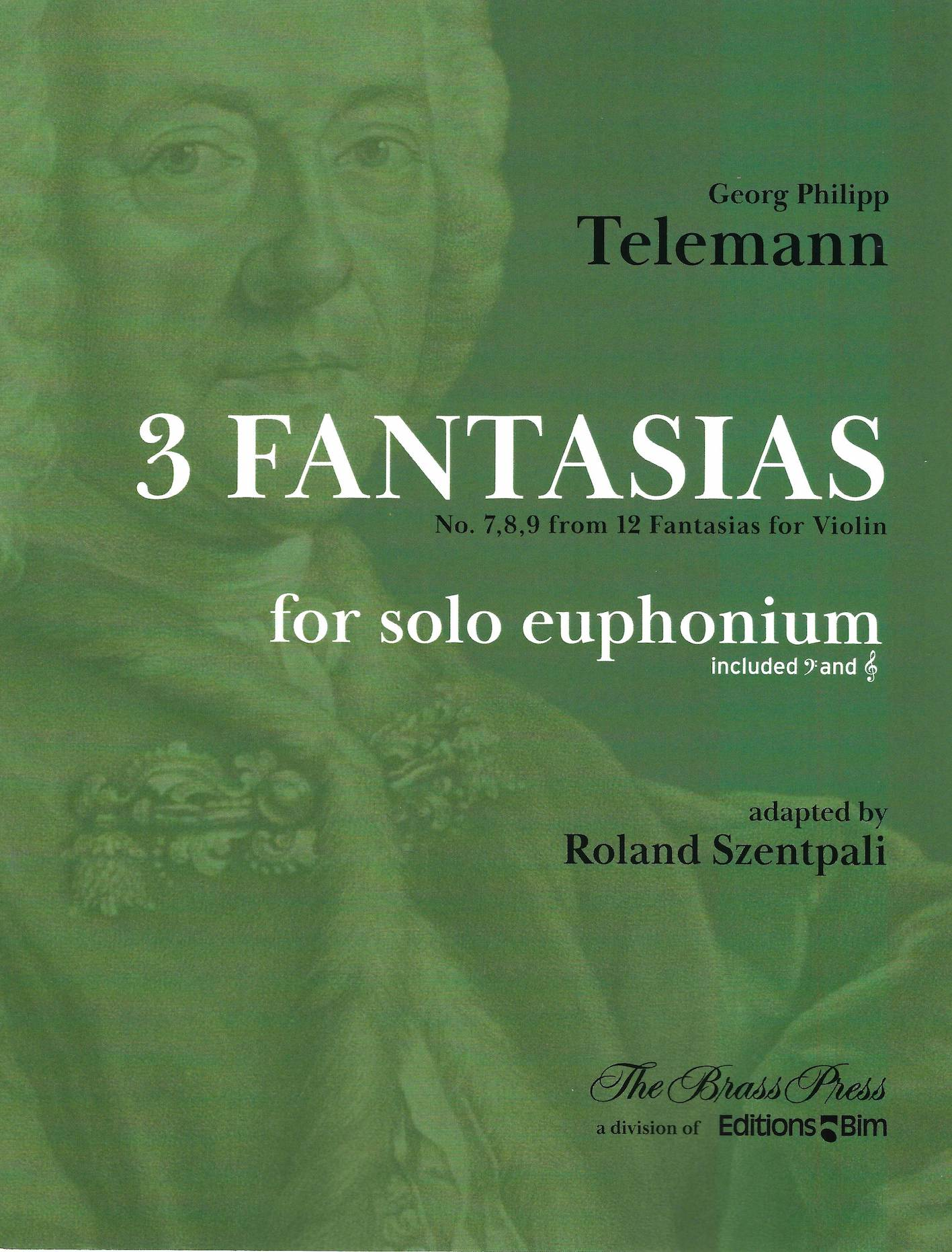 Three Fantasias (from Nos.7,8,9 from 12 Fantasias for Violin) - G.P.Telemann - adapted by Roland Szentpali