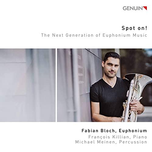 CD - Spot on! - Fabian Bloch, with Francois Killian (piano) and Michael Meinen (percussion)