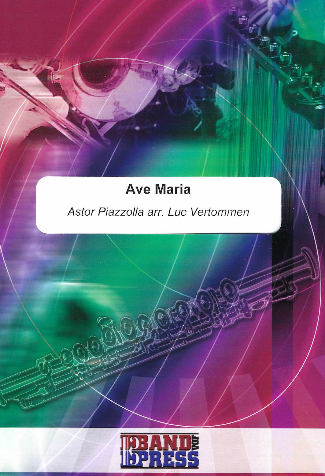 Ave Maria - Astor Piazzolla Arr. Luc Vertommen - Euphonium and Piano
