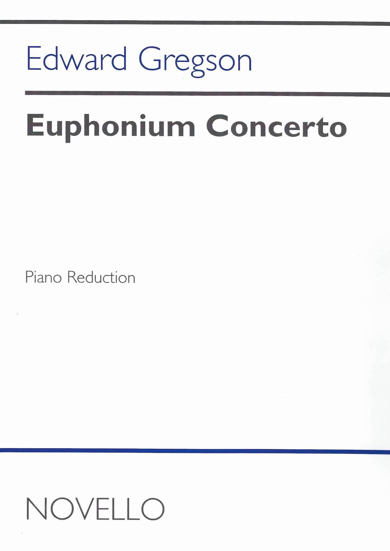 Euphonium Concerto - Edward Gregson - Euphonium and Piano