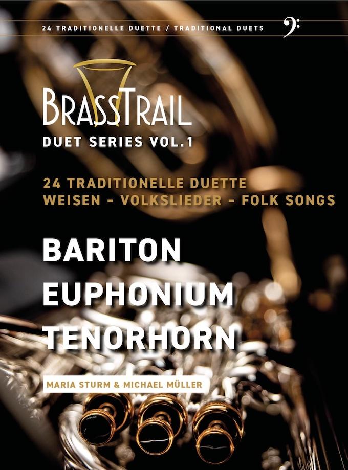 Brasstrail- Duet Series Vol.1 - Bass clef - NEW!!